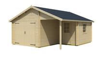 Woodvision | Blokhut Garage Nevis | 500 x 550 cm