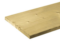 Tuinhout plank NE Vuren | 18 x 195 mm | 480 cm