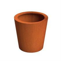 Adezz | Cortenstalen plantenbak Cado | Ø80 x 80 cm