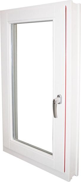 Elephant | Meranti raam | 125 x 65 cm | Draai/kiep | Linksdraaiend
