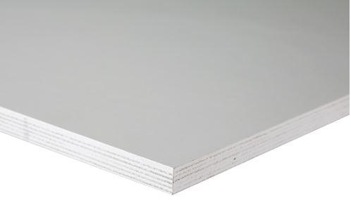 Betonplex Wit | 12mm | 125 x 250 cm | 2 zijde wit | 250gr