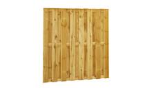 Plankenscherm grenen | 15-planks | 15 mm | Bouwpakket