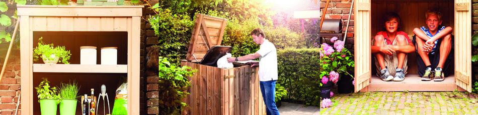 Tuinkast Hout - De Voordeligste Houten Tuinkasten vindt u HIER!