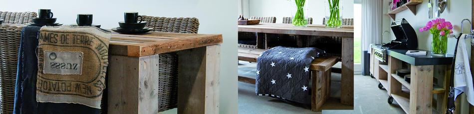 Steigerhouten Tafel : Bekijk alle steigerhouten tafels!