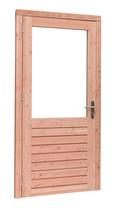 Woodvision | Enkele deur Prestige | Douglas | 6-ruits | Linksdraaiend | 109 x 221 cm