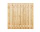 Grenen plankenscherm   21-planks   180 x 180 cm