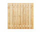 Grenen plankenscherm | 21-planks | 180 x 180 cm V