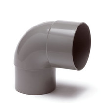 PVC bocht | 87.5° | Ø60