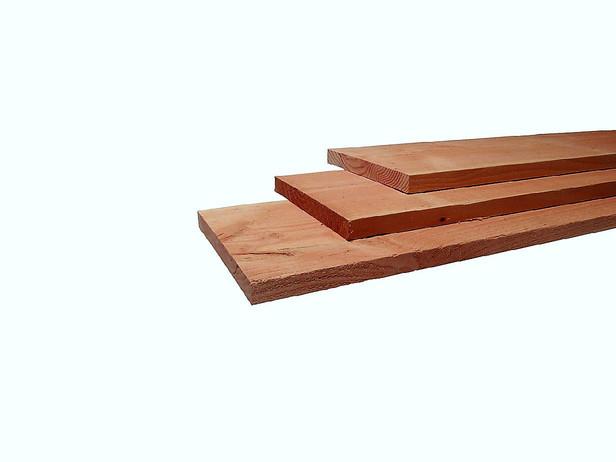 Fijnbezaagde plank | Douglas | 16 x 144 mm | 180 cm