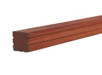 Hardhouten paal | AVE | 65 x 65 mm | 200 cm met groef