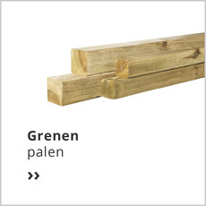grenen palen