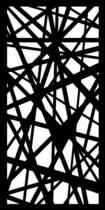 Cortenscherm Lodi - 120x60 cm