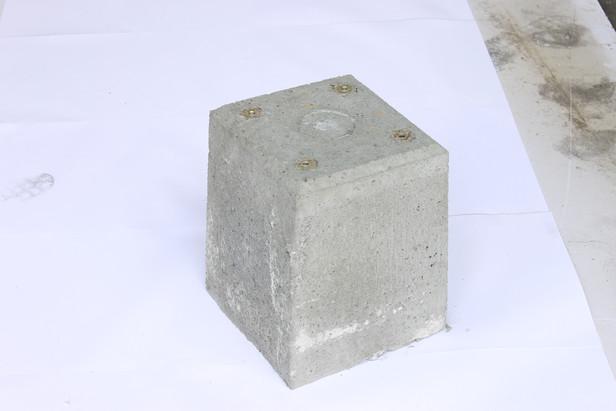 Westwood | Betonpoer 12x12 tbv alumunium overkapping | Massief