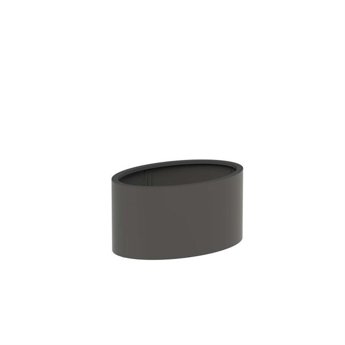 Adezz | Aluminium bloembak Ellipse | 120 x 80 x 60 cm