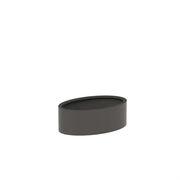 Adezz | Aluminium bloembak Ellipse | 120 x 80 x 40 cm