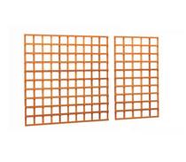 Trellis | Rechthoek | Hardhout | 180 x 180 cm