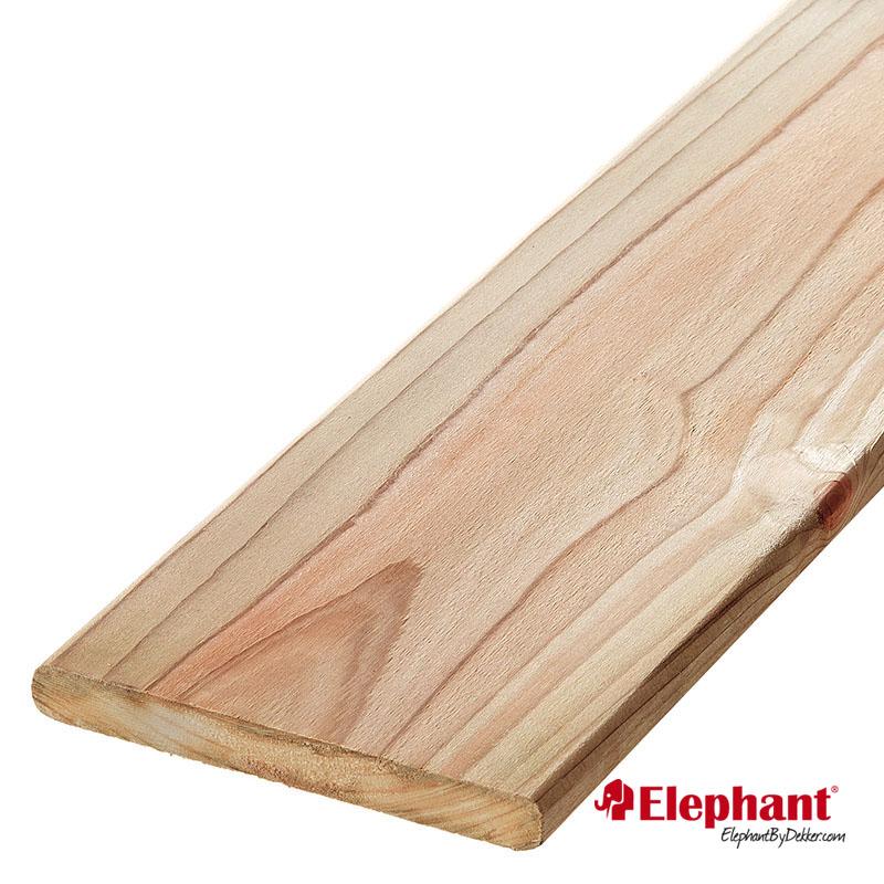 Elephant   Schuttingplank   16x142 mm   180 cm   Vuren