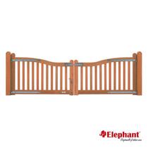 Elephant | Luxe dubbele poort | 85/100x300 cm
