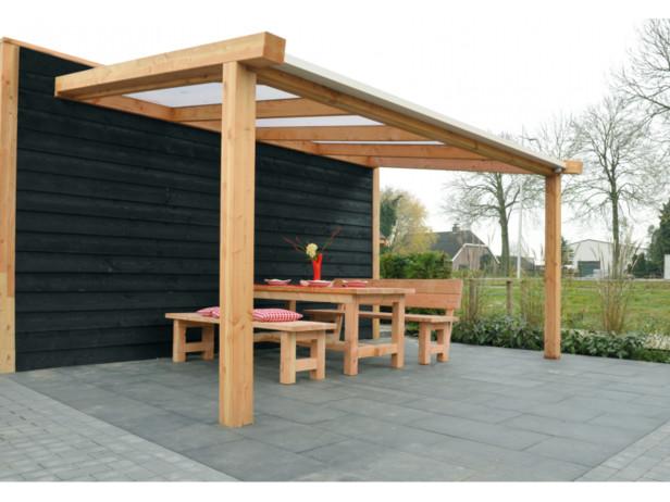 Excellent veranda Douglas | 300 x 400 | Opaal