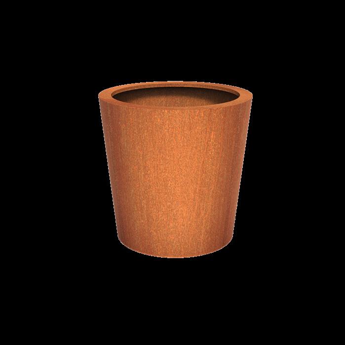Adezz | Cortenstalen plantenbak Cado | Ø100 x 100 cm