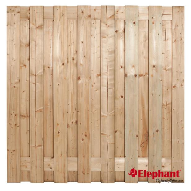 Elephant | Finch tuinscherm | 180x180 | Vuren