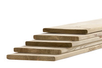 Tuinhout plank NE Vuren | 18 x 195 mm | 300 cm