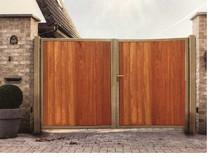 Gardival | Poort Rhone | Gesloten Beplanking | 100x180cm