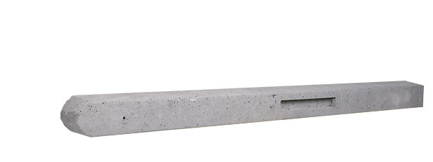 Betonpaal | Basic | Grijs | Tussenpaal | 280 cm