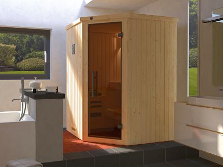 WEKA | Sauna Kiruna 1 GT | Inclusief Kompakt 3,6 kW kachel