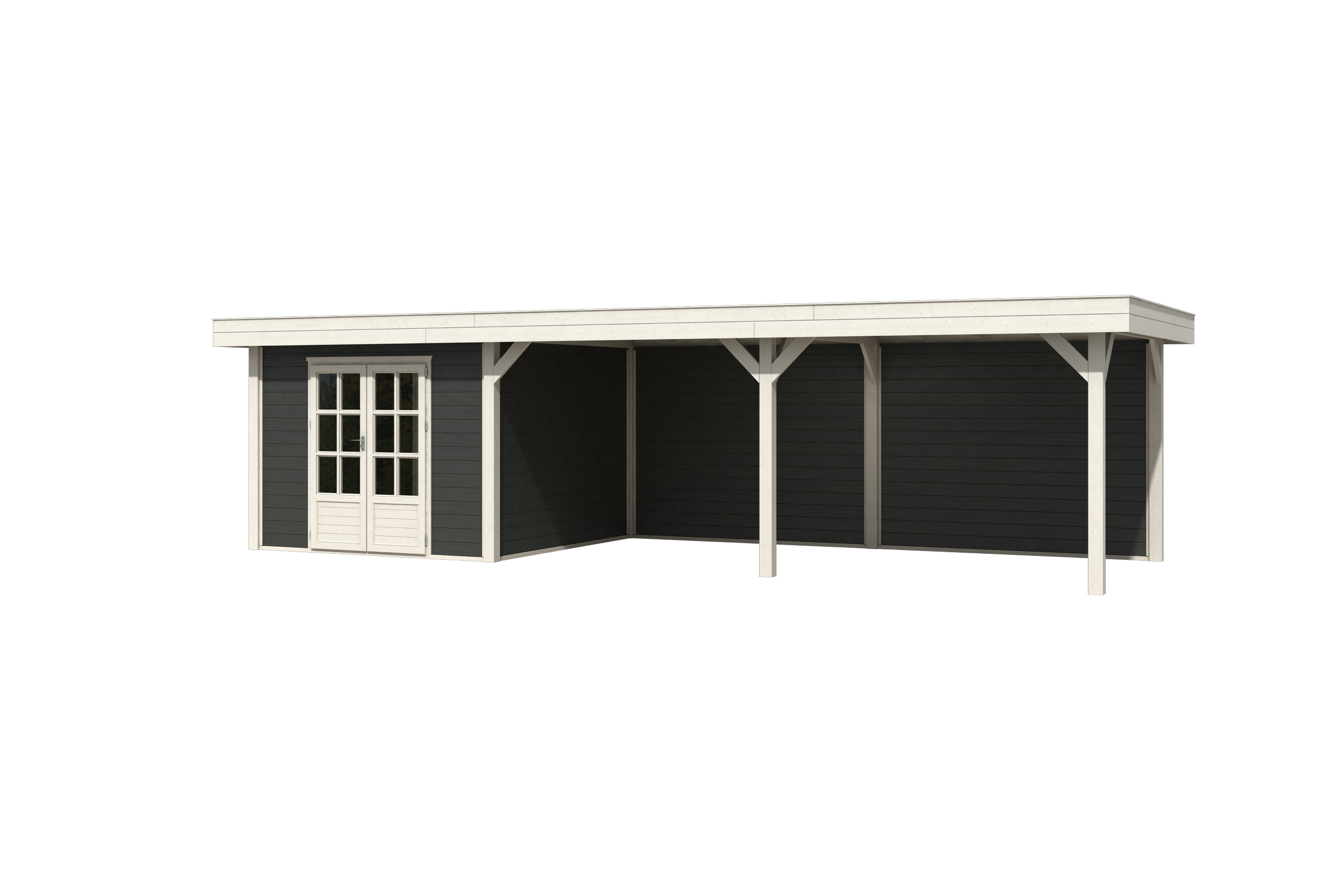 Westwood | Outdoor Living 9030 Extra | Carbon Grey | 888x304 cm