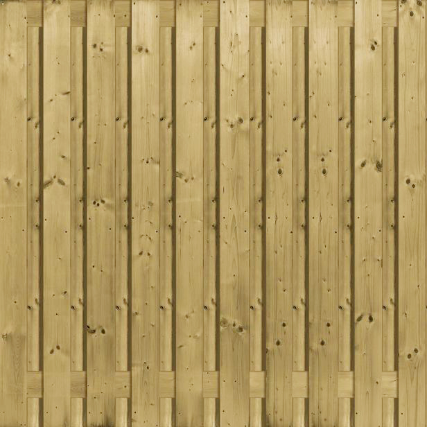 Jumbo | 1250 | Recht verticaal | 180x180cm | 21-planks scherm