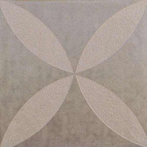 Excluton | Optimum Decora 60x60x4 cm rose | Silver
