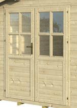 Westwood | Dubbele Glasdeur 4-ruits