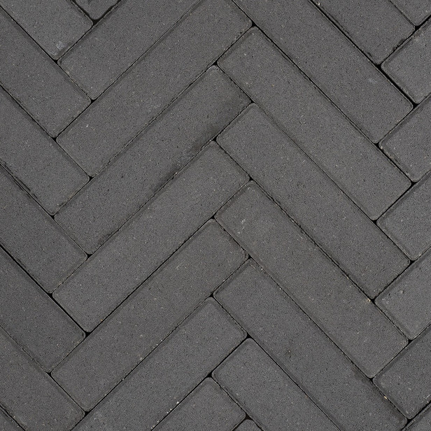 Gardenlux | Betonklinkers Waalformaat 5x20x6 | Zwart