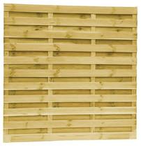 Lamellenscherm Grenen | 21-planks | 180 x 180 cm