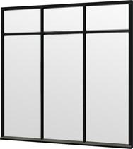 Trendhout | Steel Look raam module H-02 | 223x220 cm