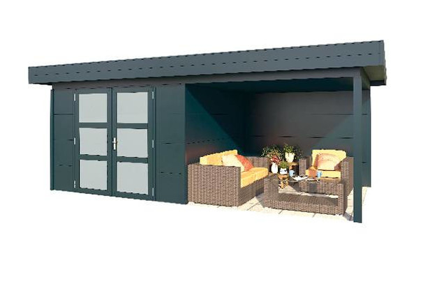 Gardendreams | Outdoor cabins met platdak | Melia | 572 x 300 cm
