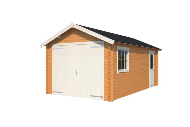 Nubuiten   Garage Dillon   Dark Oak   560x320 cm