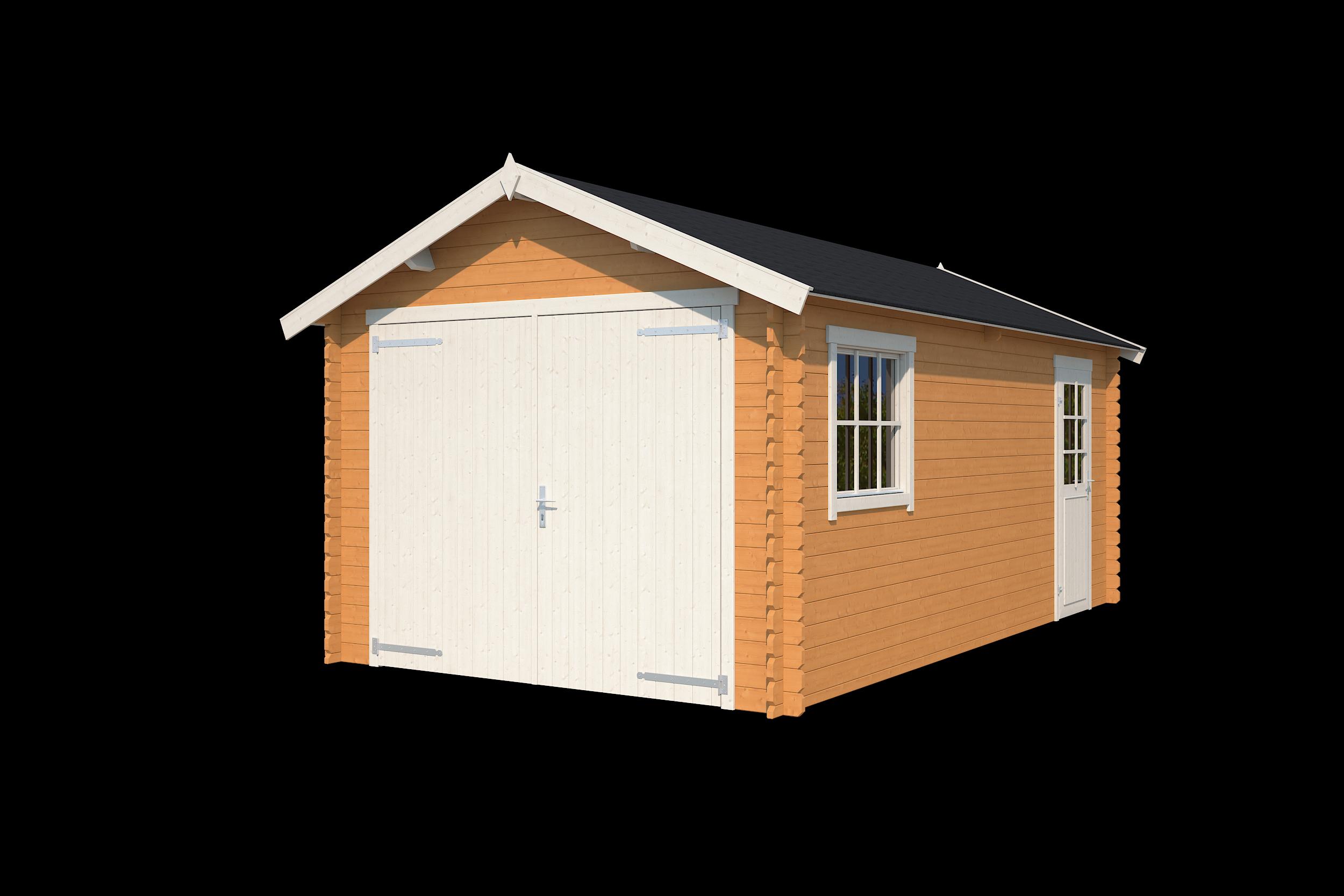 Nubuiten | Garage Dillon | Dark Oak | 560x320 cm
