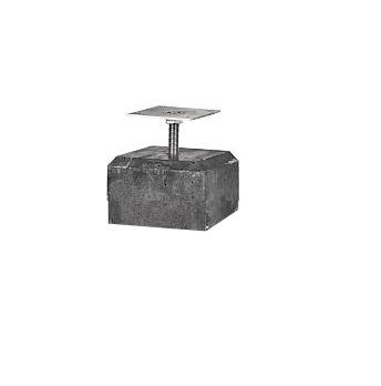 Westwood | Betontegel Deluxe | 12x12cm voor paal 10-12 cm