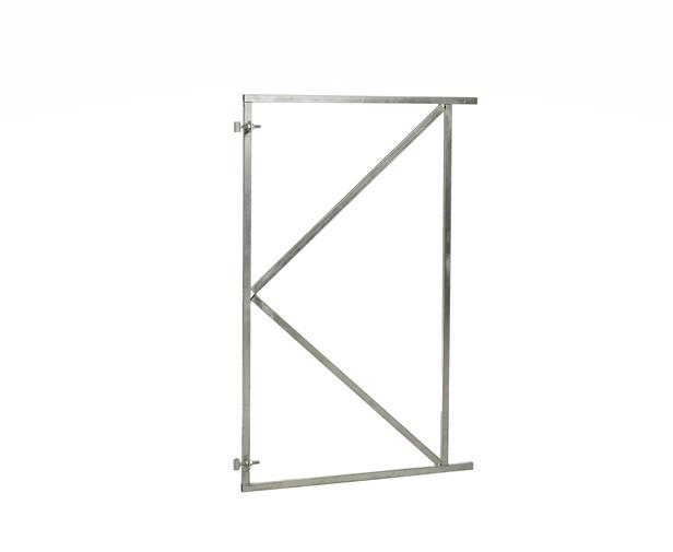 Stalen poortframe verstelbaar | 100 x 180 cm | Vuurverzinkt