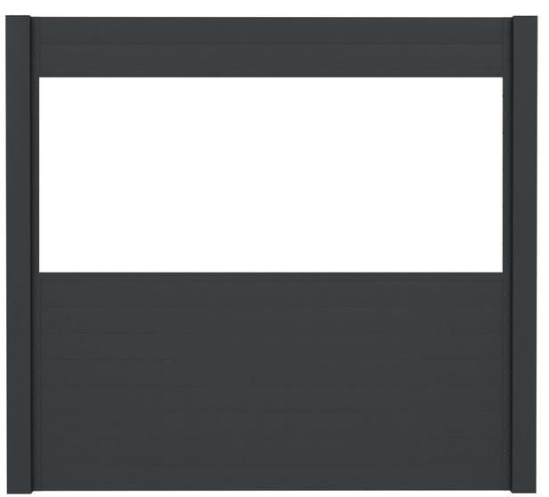IdeAL | Basisset Scherm Antraciet 6 planks | 180x180