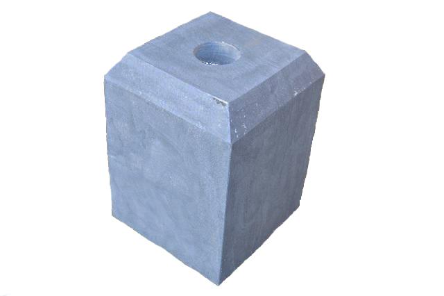 Arduinen sokkel Blauw hardsteen 18 5 x 18 5 cm