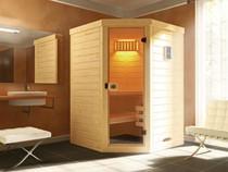 WEKA | Sauna Laukkala 1 GT | Massief hout | 144 x 144 cm