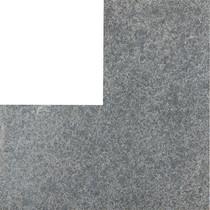 Gardenlux | Basalt Vijverrandhoek Geborsteld 50/50x25x3 | Basaltino Flamed