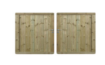 Exterior Living | Tuinpoort Prestige 180x300 cm ( dubbel)