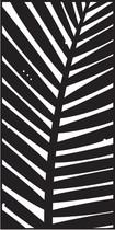Cortenscherm Leaf - 120x60 cm