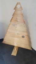 Kerstboom | Blank hout