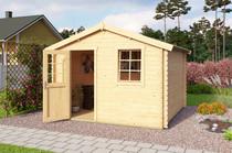 Westwood | Blokhut Wels 3 | 300x300 cm | Groen geimpregneerd