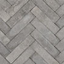 Gardenlux | Betonklinkers Waalformaat 5x20x6 | Grijs/Zwart